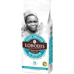 Lobodis Café moulu Pure Origine Afrique des grands lacs le paquet de 225 g