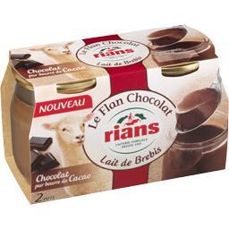 Le Flan Chocolat lait de brebis