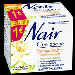 Cire Divine - Cire fleur d'oranger huile d'argan Bye Bye douleur