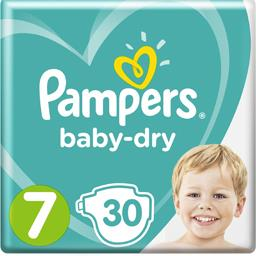 Baby-dry - taille 7 - 15kg+ - couches