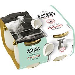 Savoie Yaourt Yaourt au lait de chèvre nature
