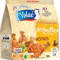Grignottes de poulet rôties