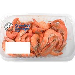 Crevettes sauvages cuites 60/80
