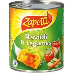 Ravioli 6 légumes