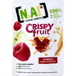 Crispy Fruit framboise pommes et céréales