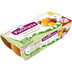 Pommette Desserts bébé pomme mangue, dès 6 mois les 2 pots de 120 g
