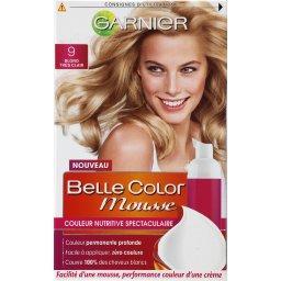 Belle Color Mousse - Couleur nutritive blond très clair 9