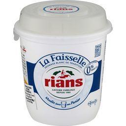 Fromage blanc de campagne La Faisselle 0% MG