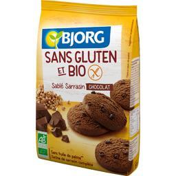 Sablé sarrasin chocolat sans gluten BIO