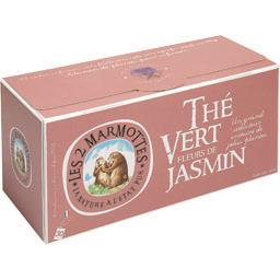 Thé vert fleurs de jasmin