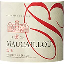 Bordeaux Supérieur Le B par Maucaillou vin Rouge 201...
