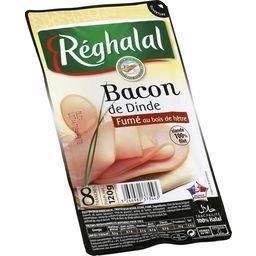Bacon de dinde fumé au bois de hêtre halal