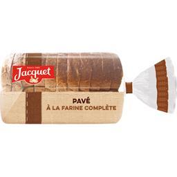 Pavé à la farine complète