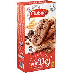 Biscuits Petit Déj tout chocolat