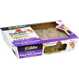 Salade & Compagnie - Salade Barcelona poulet rôti, chorizo