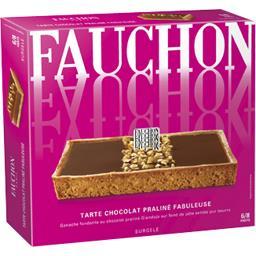 tarte savoureusement chocolat praline fauchon 430g