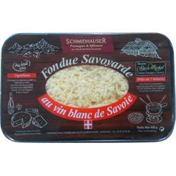 Fondue savoyarde au vin blanc de Savoie