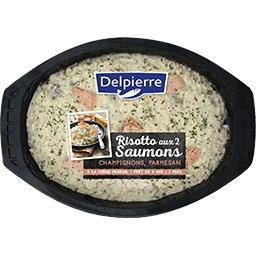 Risotto 2 saumon champignon