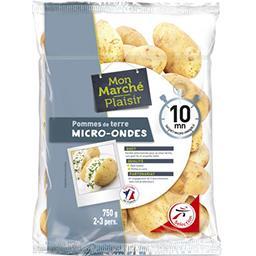 Pommes de terre micro-ondes