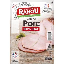Rôti de porc 100% filet