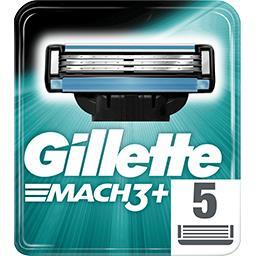 Mach3+ lames de rasoir pour homme 5recharges