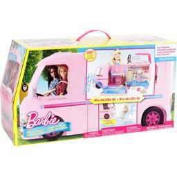 Barbie Camping car transportable