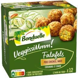 Bonduelle VeggissiMmm! - Falafels pois chiches, maïs coriandre...