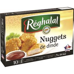 Nuggets de dinde halal