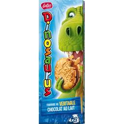 Biscuit fourrage au véritable chocolat au lait