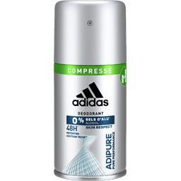 Déodorant Compressé 0% sels d'alu Adipure 48 h