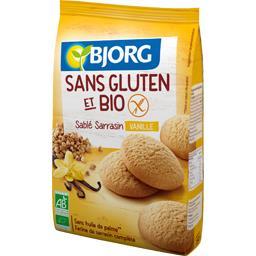 Sablés sarrasin vanille sans gluten BIO