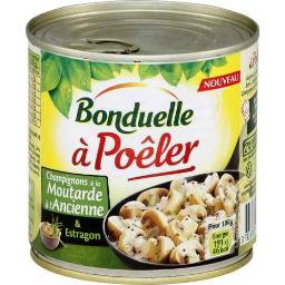 A Poêler - Champignons à la moutarde à l'ancienne