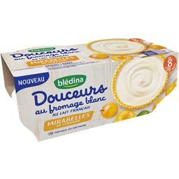 Douceurs au fromage blanc mirabelles, de 8 à 36 mois