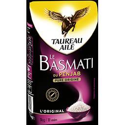 Taureau Ailé Le Basmati riz du Penjab