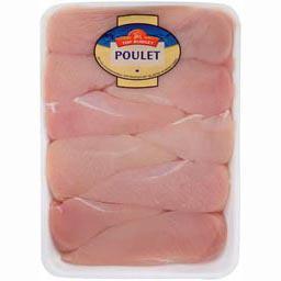 Filets de poulet BLANC