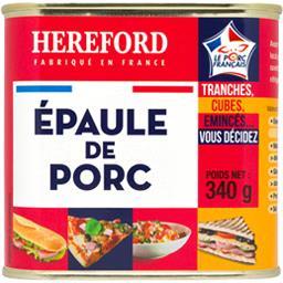 Hereford Epaule de Porc 340 g - Lot de 6