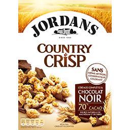 Country  Crisp - Céréales complètes & chocolat noir ...