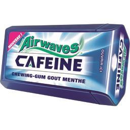 Chewing-gum Caféine goût menthe