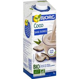 Boisson coco sans sucres BIO