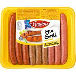 Saucisses de volailles panaché Mix Grill