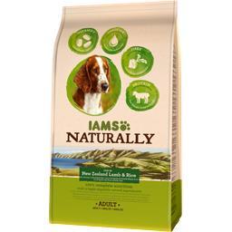 Naturally - Croquettes agneau riz pour chiens adulte...
