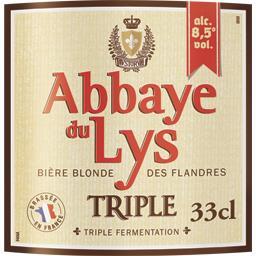 Bière blonde Triple des Flandres