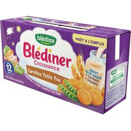 Blédina Blédina Blédîner Croissance - Céréales et carottes petits po...
