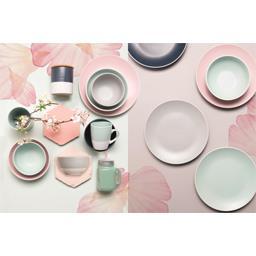 Collection Pastel - Grande assiette D 27 cm gris clair