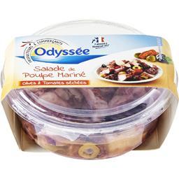 Salade de poulpe mariné olives & tomates séchées