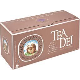 Les 2 marmottes Infusion Tea Dej la boite de 30 sachets - 45 g