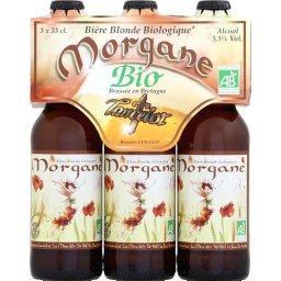 Bière Morgane blonde bio