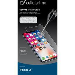 Protection d'écran en verre trempé pour iPhone X