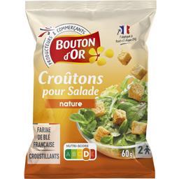 Croûtons cubes salade nature