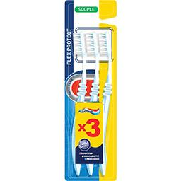 Aquafresh Brosse à dents Flex Protect souple